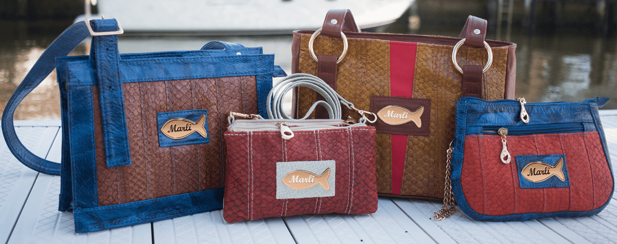 Fish Leather Handbags