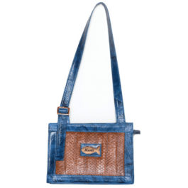 Satchel Shoulder Bag – Bela Azure