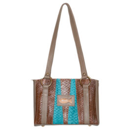 Satchel Shoulder Purse – Cool Turquoise