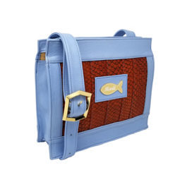 Satchel Shoulder Bag – Ocean Wave