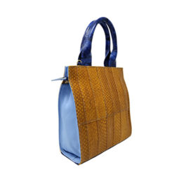 Top Handel Satchel – Blue Ocean